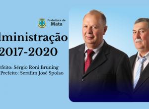 PREFEITO E VICE DIVULGAM MENSAGEM E BALANÇO DE FINAL DE MANDATO